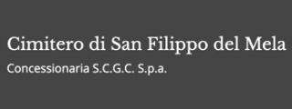 Cimitero San filippo del Mela logo